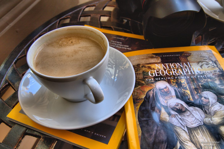 C'est samedi matin… prendrais-tu un café?
