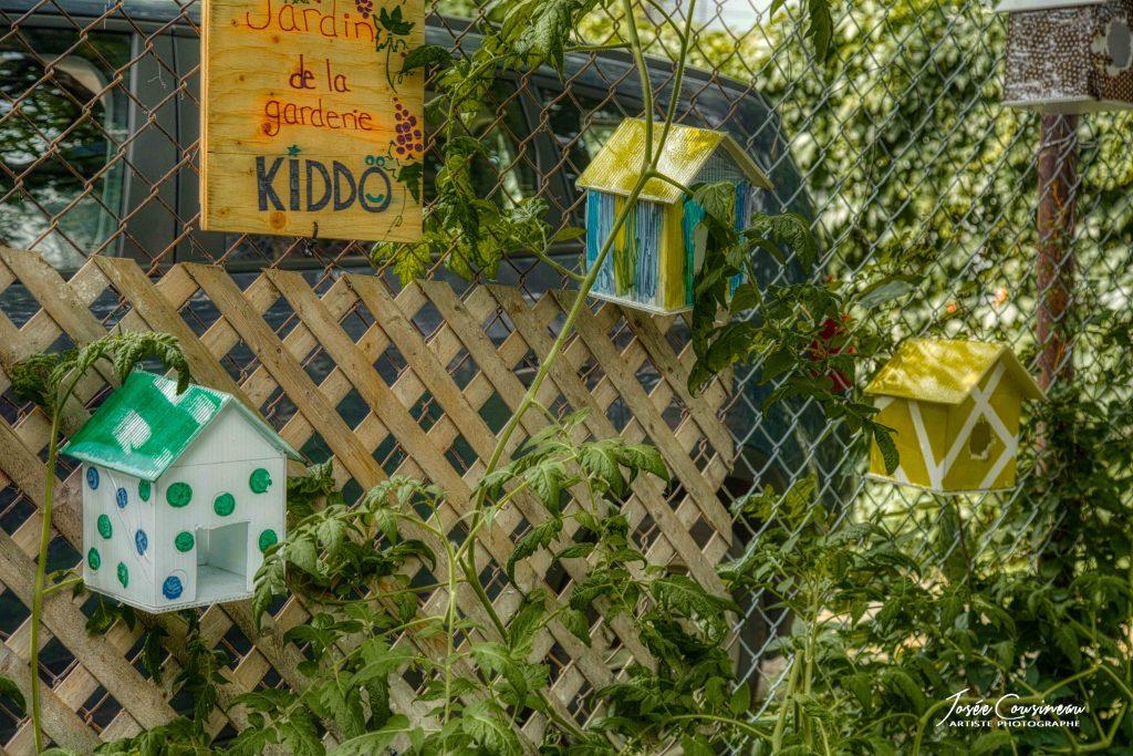 Jardin de la garderie Kiddo