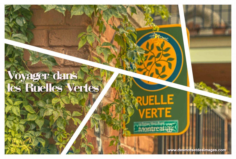 Les Ruelles Vertes à vélo ou à pied.