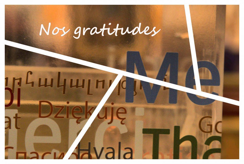 Tag – Mes gratitudes du mois d'août