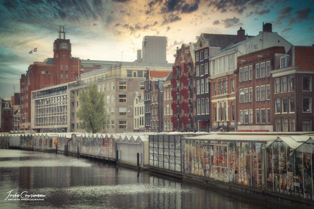 Des mots et des images, souvenirs d'Amsterdam